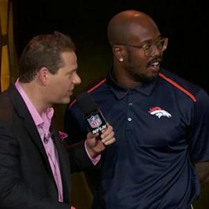 Pro Bowl Draft: Denver Broncos linebacker Von Miller goes No. 14