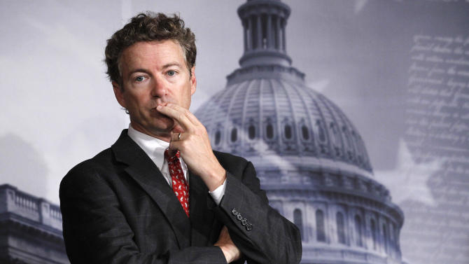 On drones, Egypt, Paul makes foreign policy mark