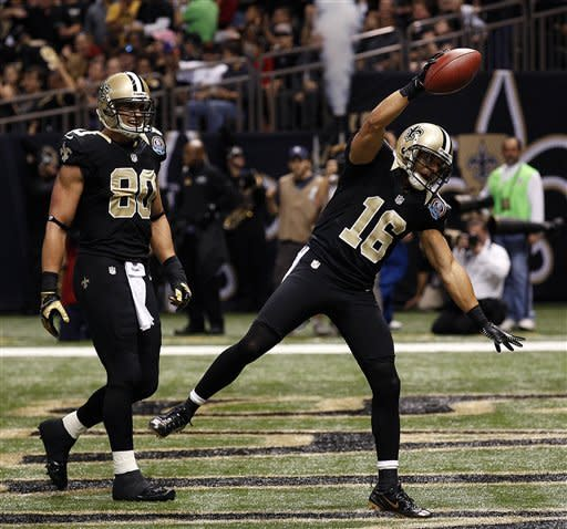 Brees leads Saints over Bucs, 41-0