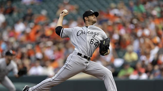 O's make baserunning gaffe, Chisox end 9-game skid