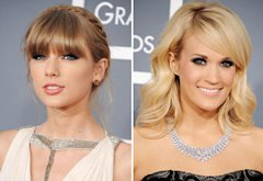 Taylor Swift, Carrie Underwood | Photo Credits: Steve Granitz/WireImage