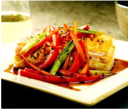 Teriyaki Braised Black Cod