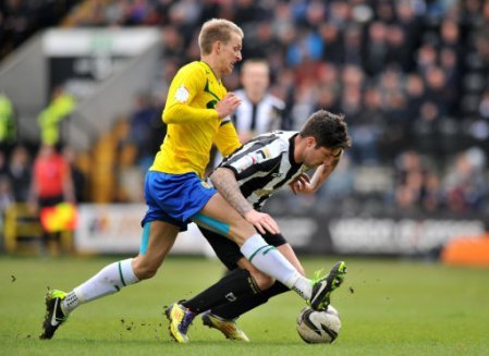 Soccer - npower Football League One - Notts County v Coventry City - Meadow Lane