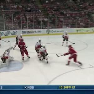Daniel Alfredsson scores 26 seconds into game