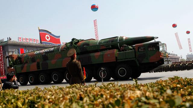 North Korea Moves Missile, Could Be Preparing a Test