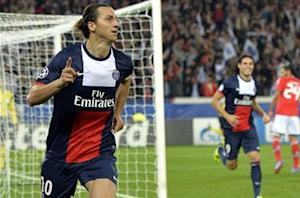 Olympique de Marseille 1-2 Paris Saint-Germain: Ibrahimovic penalty gives 10-man PSG three precious points