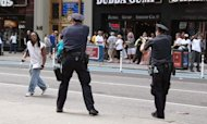 Times Square Shooting: Tourists Film Police