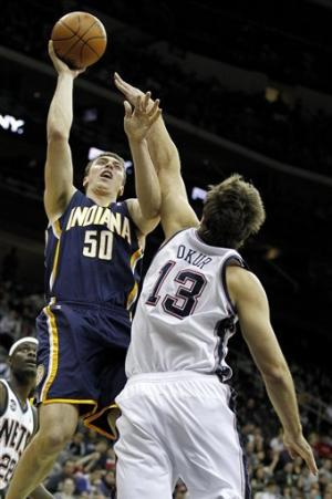 George scores 21, Pacers beat skidding Nets
