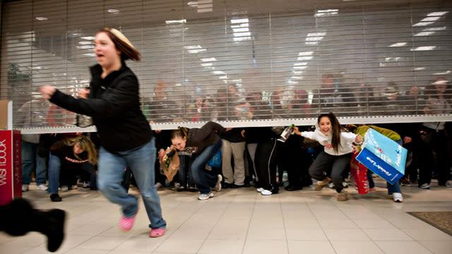 Stores Prep for Black Friday Mayhem