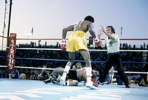 8. Thomas Hearns KO2 Roberto Duran, June 15, 1984 – Hearns showed his power in this fight, dropping Duran twice in the first and ending the fight with a blistering straight right in the second t