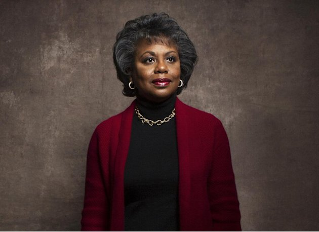 Anita Hill poses for a portrait during the Sundance Film Festival on Friday, Jan. 18, 2013, in Park City, Utah. Hill made national headlines in 1991 when she testified that then-Supreme Court nominee