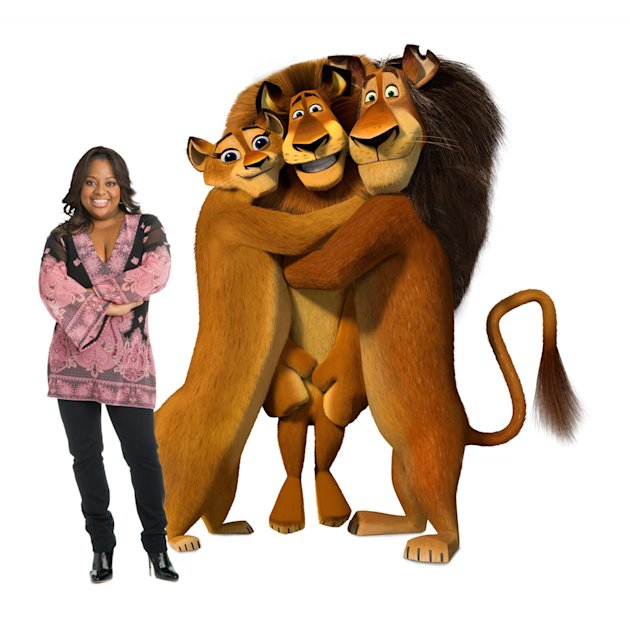 Sherri Shepherd Madagascar: Escape 2 Africa Production Stills DreamWorks 2008