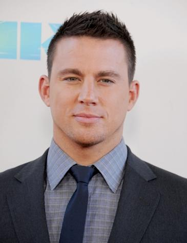 Channing Tatum arrives at the 2012 Los Angeles Film Festival closing night gala premiere of 'Magic Mike' at Regal Cinemas L.A. Live in Los Angeles on June 24, 2012 -- Getty Premium