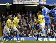 Chelsea's Daniel Sturridge (R) headed home a second-half equaliser to save Chelsea's blushes against Birmingham at a restive Stamford Bridge, but Chelsea manager Andre Villas-Boas' problems mounted after his side laboured to a 1-1 draw with the lower-league side