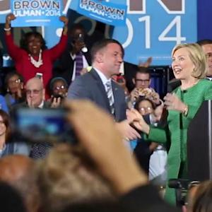 Hillary Clinton Heckled at Campaign Event