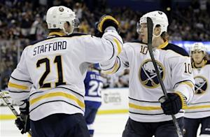 Foligno, Pominville both score 2 in Sabres' win
