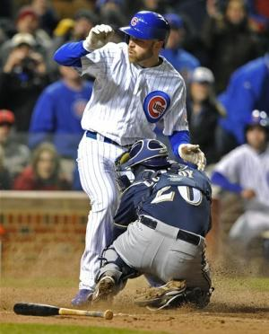 Hairston, Cubs break through late, beat Brewers