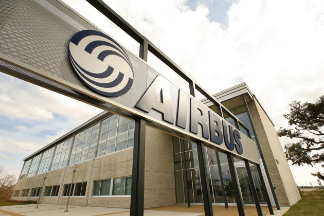 FILE - This Feb. 29, 2008 file photo shows the Airbus North America Engineering Center in Mobile, Ala. European plane maker Airbus intends to build its first U.S. plant in Mobile, Ala., a person with