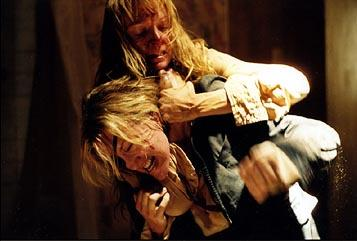 Uma Thurman and Daryl Hannah in Miramax's Kill Bill Vol. 2