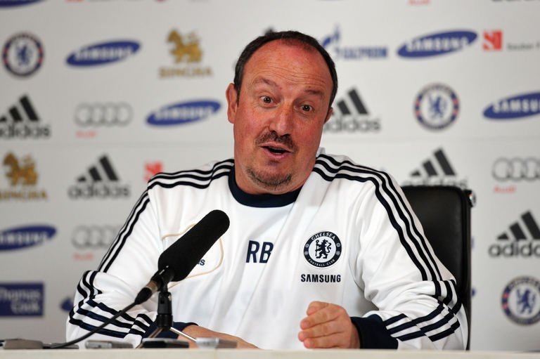 Chelsea's Spanish interim manager Rafael Benitez, pictured on May 17, 2013