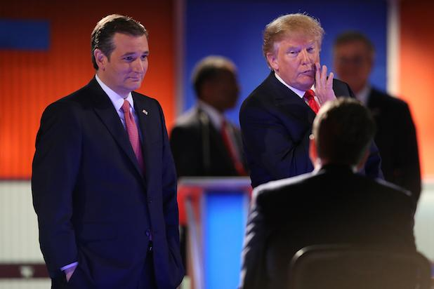 Donald Trump Says He Won't Rule Out Ted Cruz as His VP (Video)