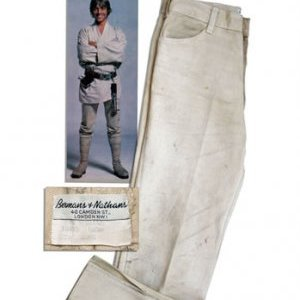Luke Skywalker&#39;s &#39;Star Wars&#39; Levi&#39;s Up for Auction (Photo)