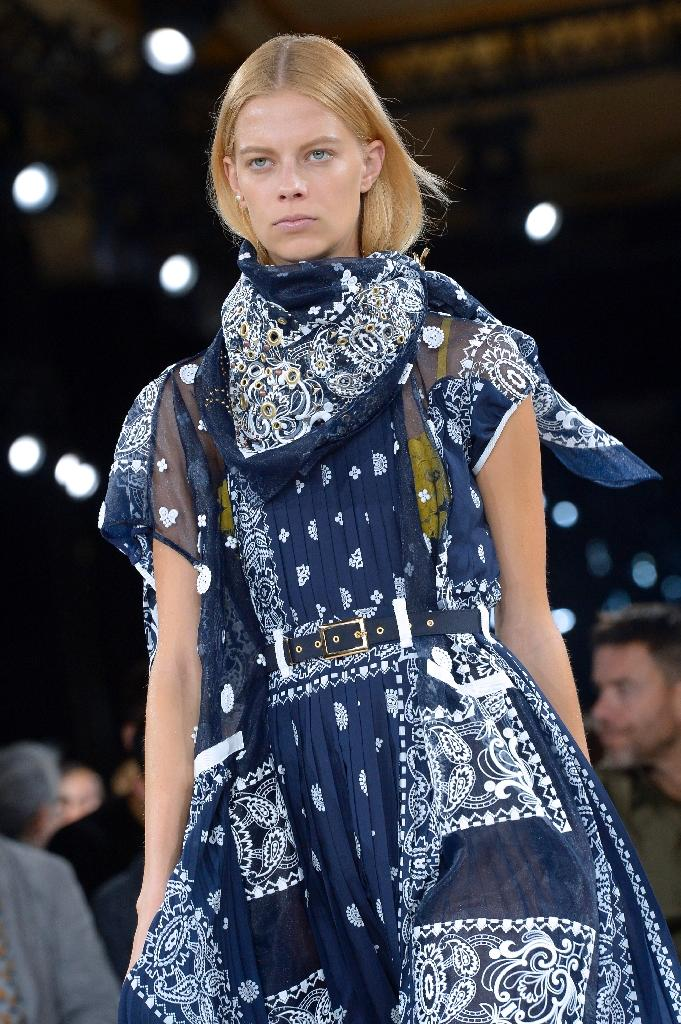 The bandana's back: Paris catwalk show brings back the 1970s