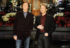 Paul McCartney and Martin Short | Photo Credits: Dana Edelson/NBC