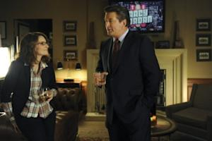 "Tina Fey as Liz Lemon and Alec Baldwin as Jack Donaghy on NBC's ""30 Rock"" -- NBC"