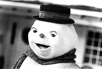 Michael Keaton is reincarnated as a snowman in Warner Brothers' Jack Frost