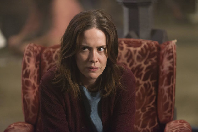 "Sarah Paulson as Lana Winters in the ""American Horror Story: Asylum"" episode, ""The Name Game."""