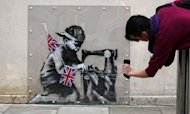 Banksy's Missing Mural Set To Make A Mint