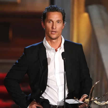 Matthew McConaughey: Fashion is like food