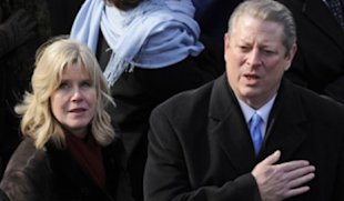 AP Photo: Al and Tipper Gore announced they are separating after 40 years of marriage. The couple is pictured here at President Barack Obama's inauguration in January 2009.