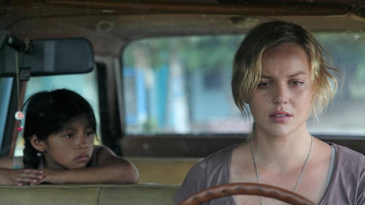 "In this image released by the Tribeca Film Festival, Abbie Cornish, right, and Maritza Santiago Hernandez are shown in a scene from ""The Girl,"" a film being featured at the Tribeca Film Festival, running April 18 thru April 29, 2012 in New York. (AP Photo/Tribeca Film Festival)"