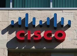 A Cisco office is pictured in San Diego, California