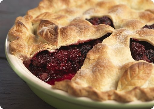 Perfect Blackberry Pie