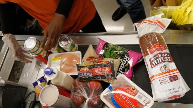 One U.S. resident in seven now gets food stamp benefits in an average month.