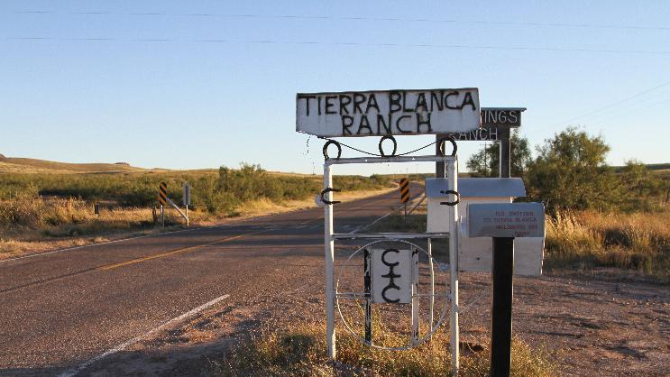 This Friday, Oct. 11, 2013 photo shows a sign and mailbox at the Tierra Blanca Ranch, a facility for troubled youths near Hilsboro, N.M. There are few options for parents with troubled youths, and in that vacuum, a relatively unregulated, off-the-grid industry of reform youth camps has flourished, despite a decade of high-profile cases alleging beatings and other abuse at some camps. Tierra Blanca was raided on Oct. 11 amid allegations of abuse. (AP Photo/Juan Carlos Llorca)