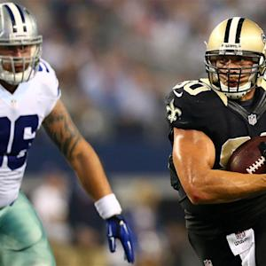 Reason to be optimistic about Jimmy Graham this weekend?
