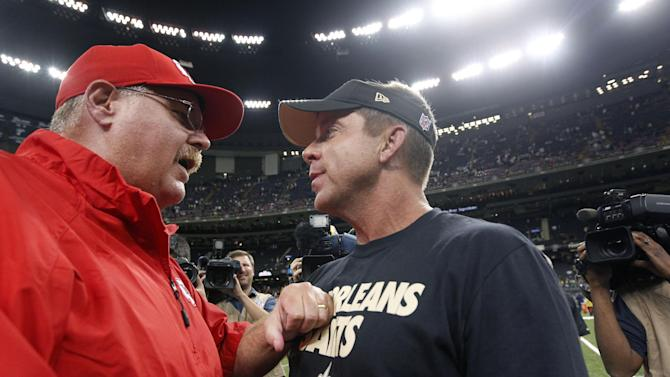 Chiefs pleased, despite 17-13 loss to Saints
