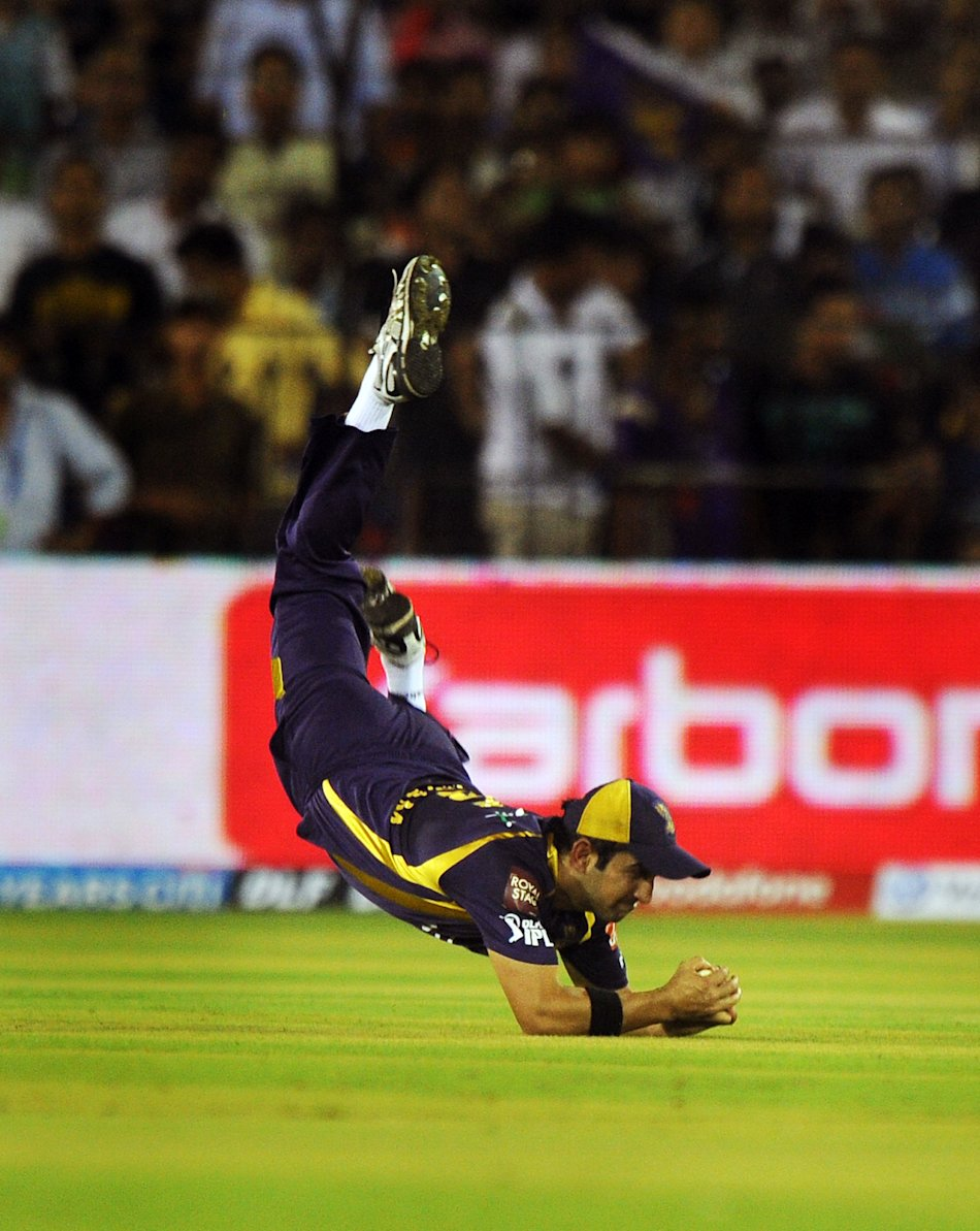 Kolkata Knight Riders captain Gautam Gam