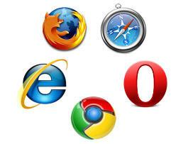Most popular US web browsers, according to the federal government