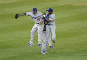 Ramirez doubles in 10th, Dodgers top Nationals 3-1