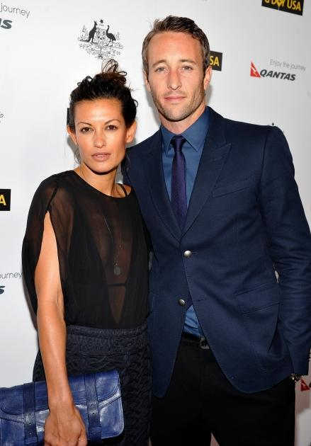 Surfer Malia Jones and Alex O'Loughlin arrive at the 9th Annual G'Day USA Los Angeles Black Tie Gala at the Hollywood & Highland Grand Ballroom, Hollywood, on January 14, 2012  -- Getty Images