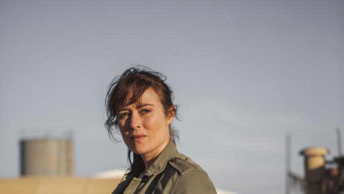 "This undated publicity photo released by Columbia Pictures Industries, Inc. shows Jennifer Ehle, as Jessica, a member of the elite team of spies and military operatives stationed in a covert base overseas, who secretly devoted themselves to finding Osama Bin Laden in Columbia Pictures' new thriller, ""Zero Dark Thirty,"" directed by Kathryn Bigelow. (AP Photo/Columbia Pictures Industries, Inc., Jonathan Olley)"