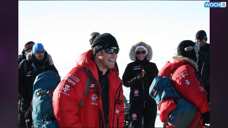 Prince Harry Tops Off Antarctica Trip With An Epic Beard