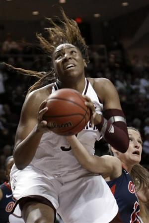 Bone leads No. 10 A&M women over Ole Miss 82-53