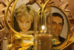 A memorial to Diana, Princess of Wales and Dodi al-Fayed …