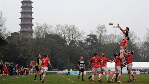 London Welsh playing at Old Deer Park (PA)
